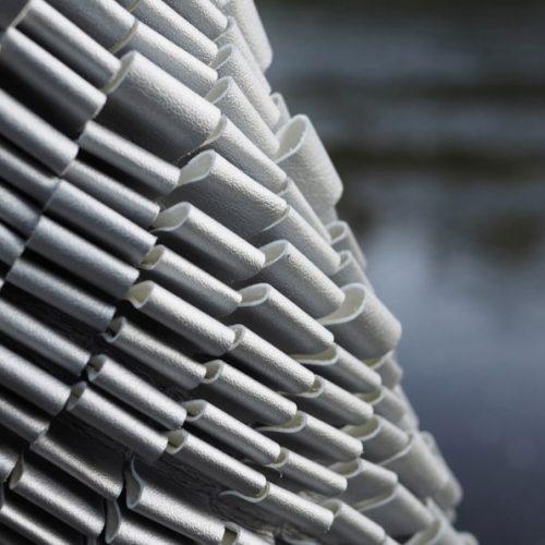 Liina Blom, surface, 3D nahkastuktuuri