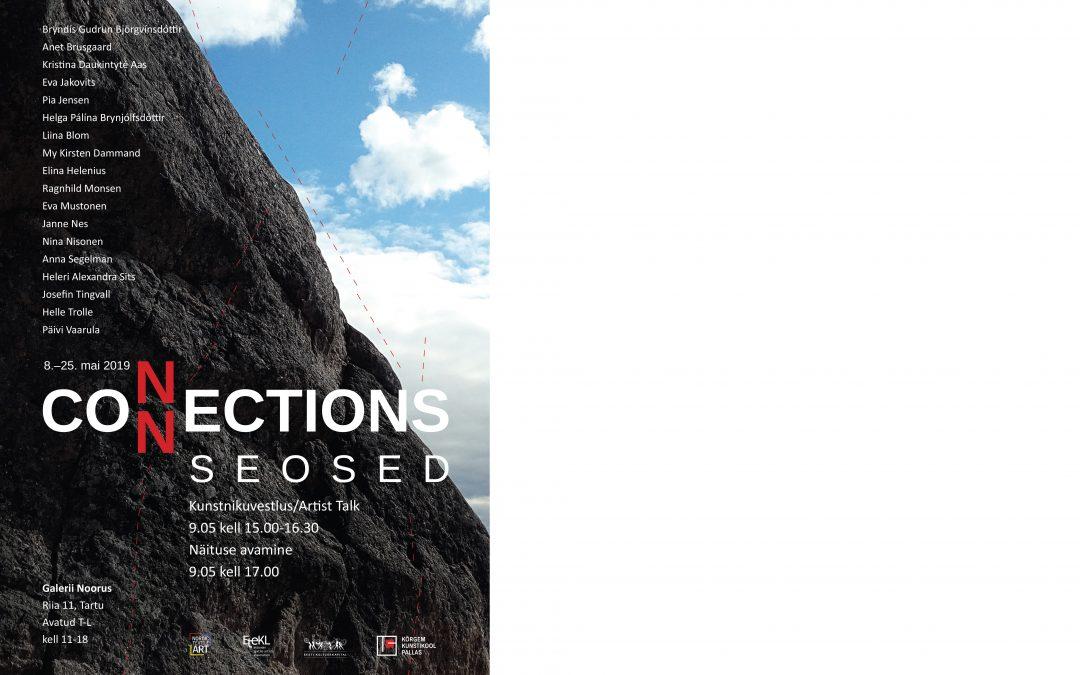 CONNECTIONS, tekstiilitaiteen kansainvälinen näyttely Tartossa