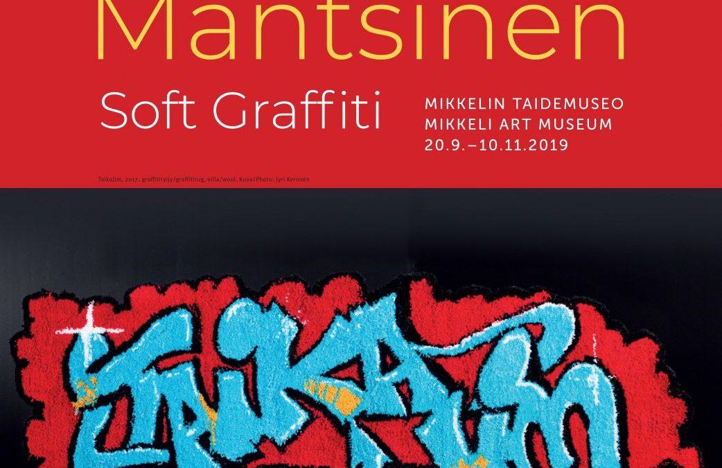 Niina Mantsinen – Soft graffiti 20.9.2019 – 10.11.2019, Mikkelin taidemuseo