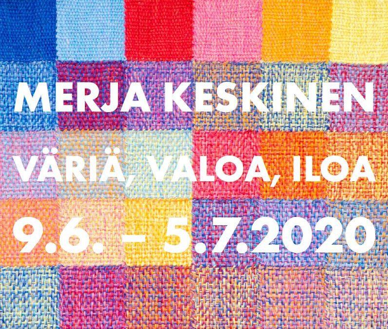 Merja Keskisen näyttely Galleria Moletissa Forssassa