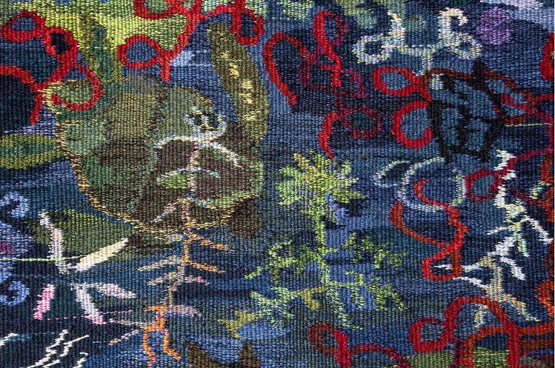 Ariadna Donnerin kuvakudos esillä American Tapestry Biennialissa