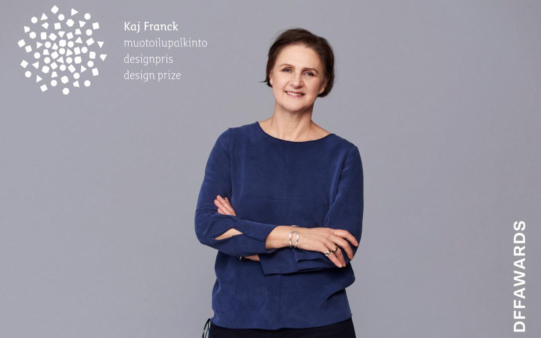 Tekstiilisuunnittelija Johanna Gullichsenille vuoden 2021 Kaj Franck -muotoilupalkinto