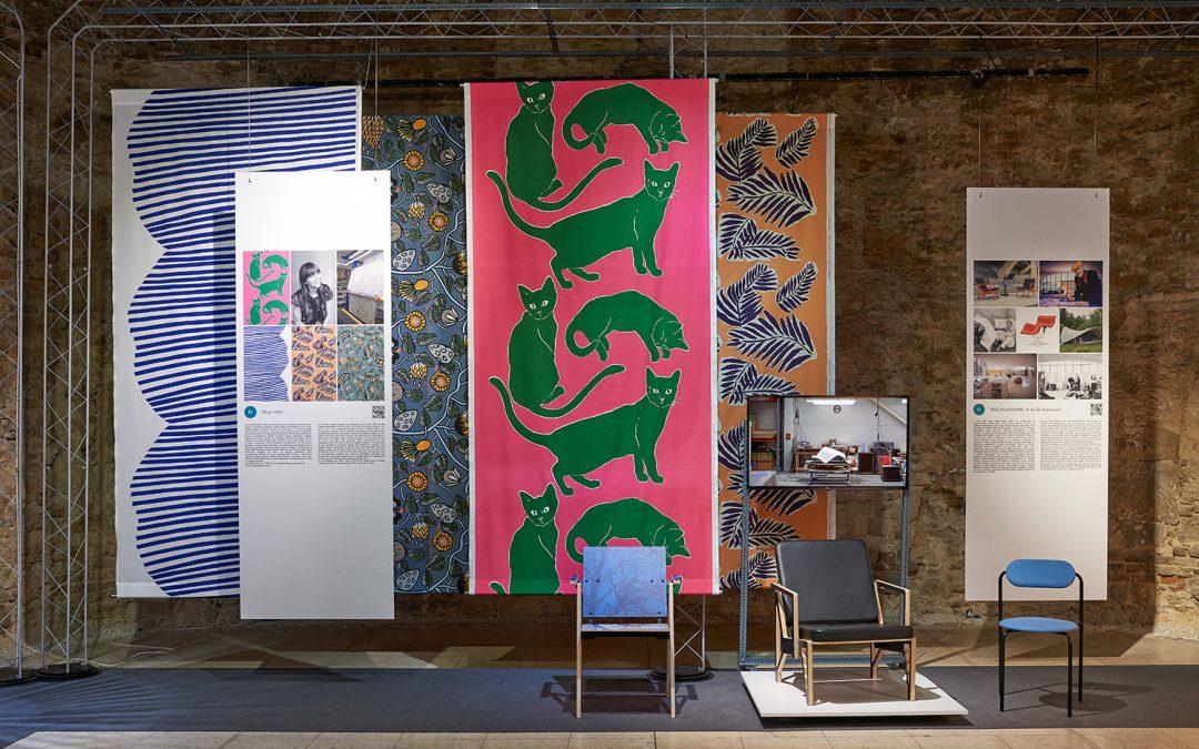 Vuoden tekstiilitaiteilija Erja Hirvi mukana Design Without Borders -näyttelyssä Unkarissa